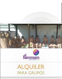 Alquiler del Hammam para grupos